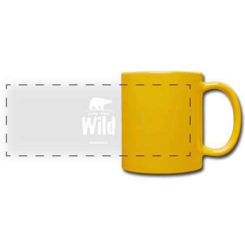 Into the wild (version light) - Mug panoramique uni