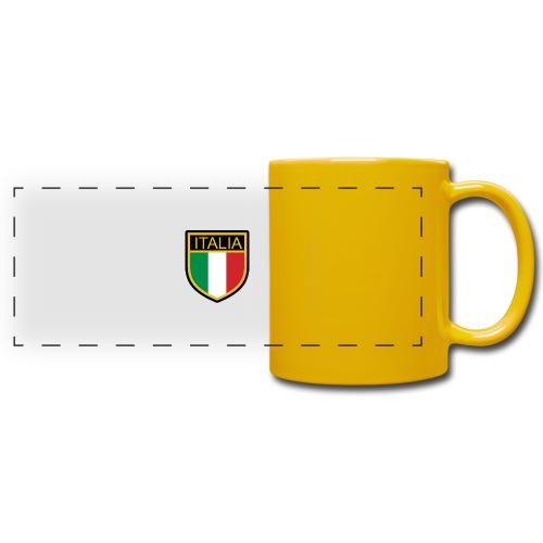 SCUDETTO ITALIA CALCIO - Tazza colorata con vista