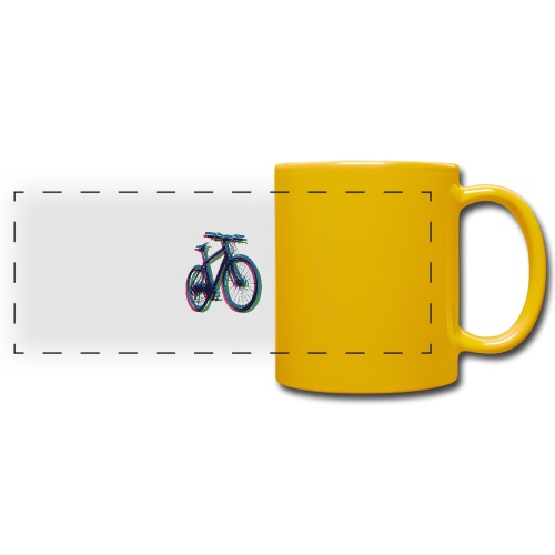 Bike Fahrrad bicycle Outdoor Fun Mountainbike - Full Color Panoramic Mug