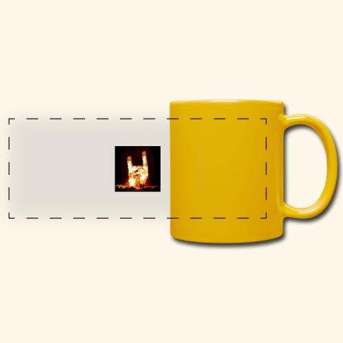 fingers bomb - Mug panoramique uni