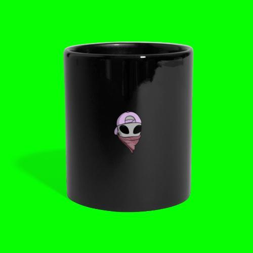 gangsta alien logo - Tazza colorata con vista