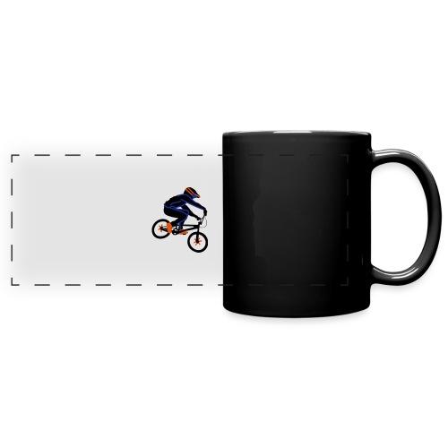 BMX Rider Dark - Panoramamok gekleurd