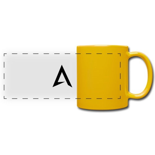 alpharock A logo - Full Color Panoramic Mug