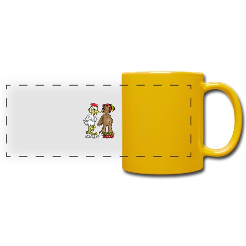 Jerk chickenPork Dread - Full Color Panoramic Mug