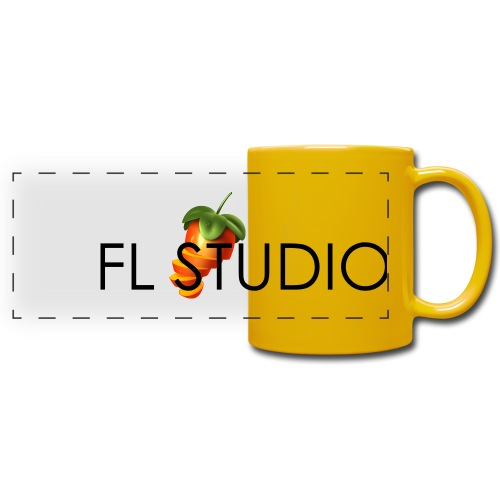 Sliced Sweaty Fruit - Full Color Panoramic Mug