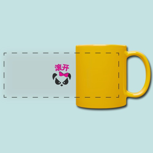 Sweary Panda - Full Color Panoramic Mug