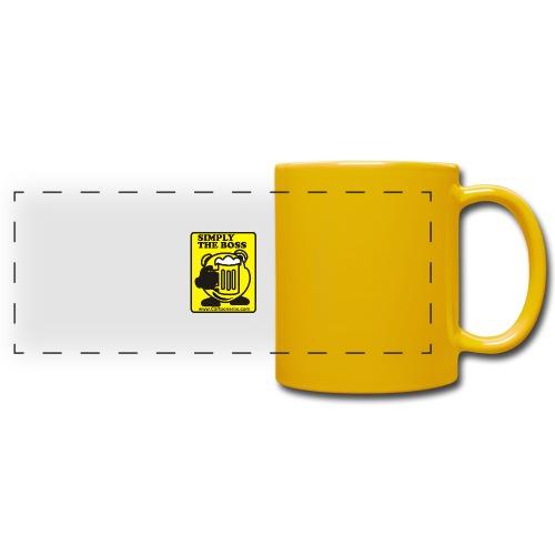 Simply the Boss - Full Color Panoramic Mug