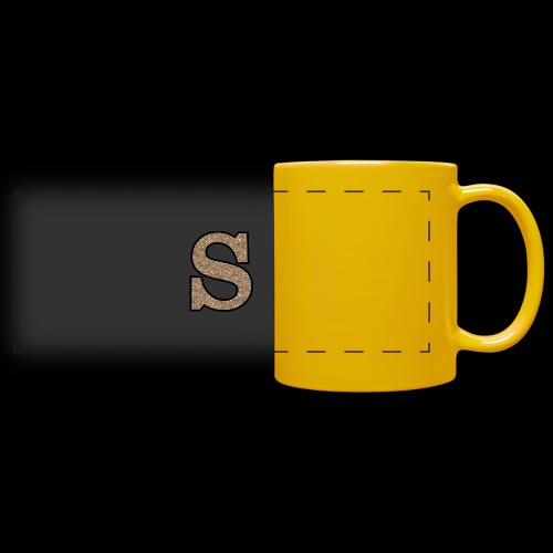 Girls S For Sonnit Golden Sparkle - Full Color Panoramic Mug