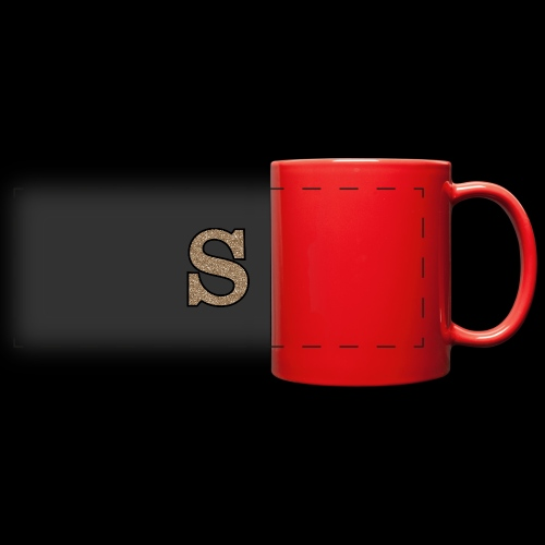 Girls S For Sonnit Golden Sparkle - Full Color Panoramic Mug