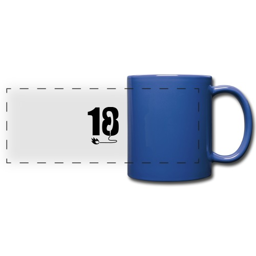 18 - Mug panoramique uni