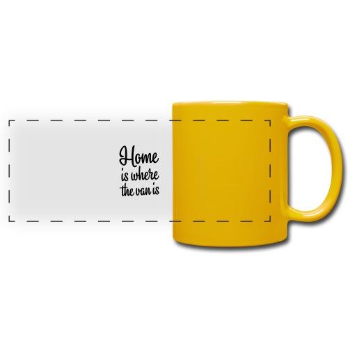 Home is where the van is - Autonaut.com - Full Colour Panoramic Mug