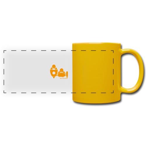 BASSET LOGO orange - Mug panoramique uni