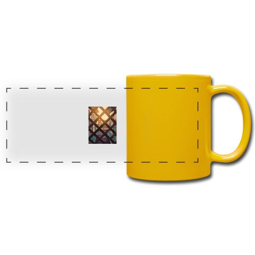 Beach - Full Color Panoramic Mug