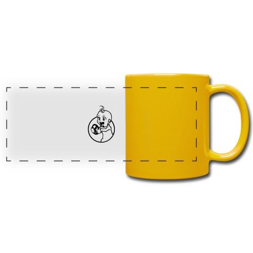 Der kleine Rennfahrer - Panoramatasse farbig