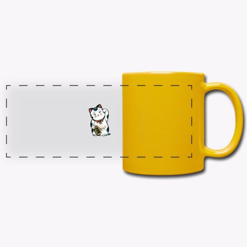 The Lucky Cat - Full Colour Panoramic Mug