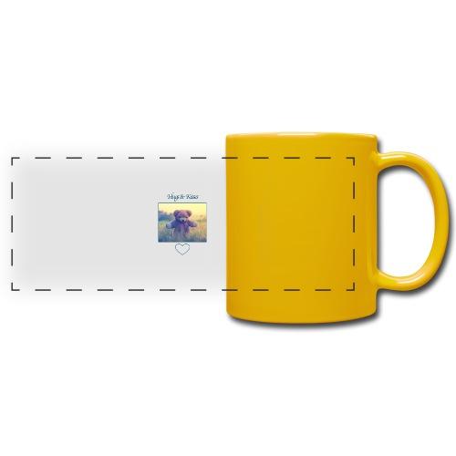 Hugs & Kisses: Phone Case - Full Colour Panoramic Mug
