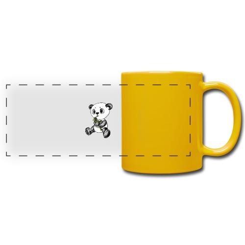 Panda Karhu värillinen scribblesirii - Panoraamamuki värillinen