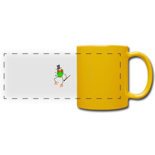Dancing Frog - Full Color Panoramic Mug