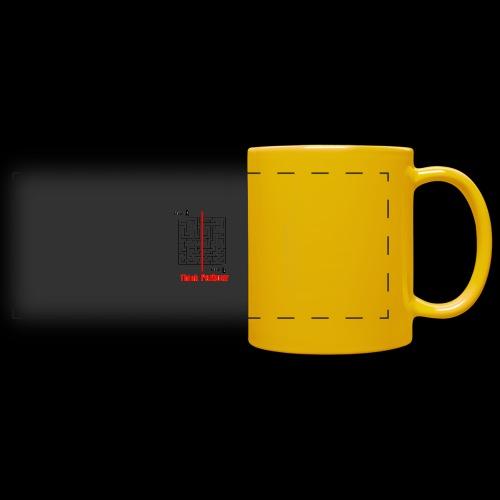 maze - Full Color Panoramic Mug