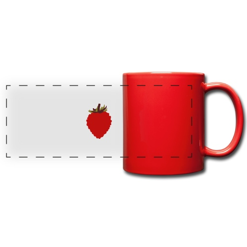 Wild Strawberry - Full Color Panoramic Mug
