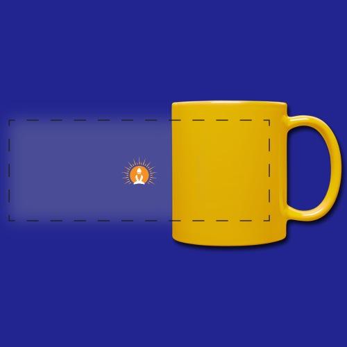 Guramylyfe logo white no text - Full Colour Panoramic Mug
