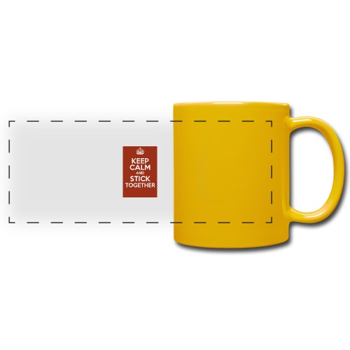 Keep calm! - Full Color Panoramic Mug