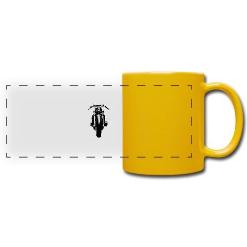 Motorcycle Front - Full Colour Panoramic Mug