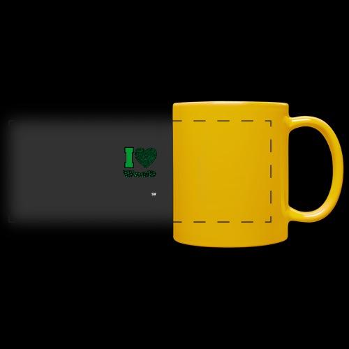 I Love weed - Mug panoramique uni