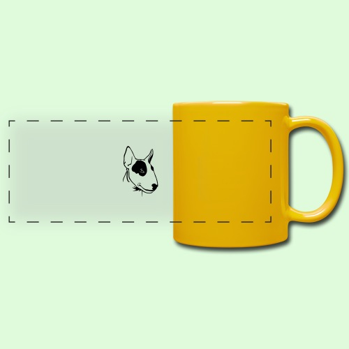 Bull Terrier - Mug panoramique uni