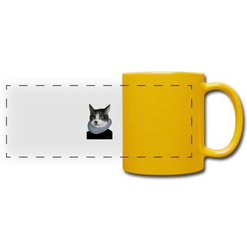 Noble Cat - Panoramatasse farbig