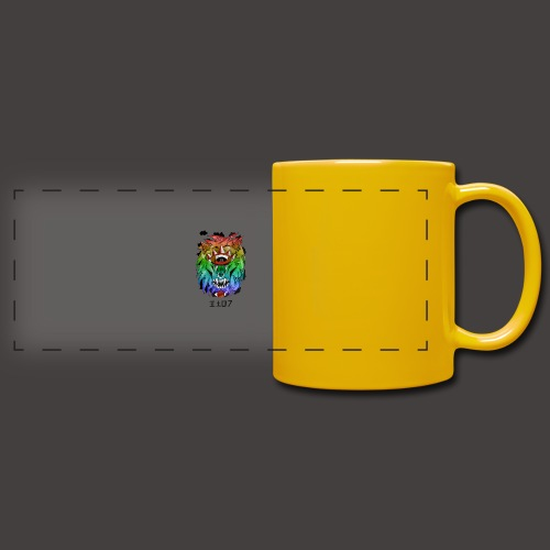 lion multi-color - Mug panoramique uni