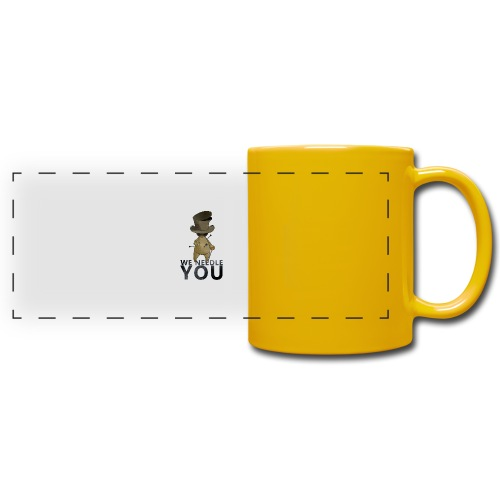 WE NEEDLE YOU - Mug panoramique uni