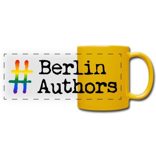 BerlinAuthors Logo Rainbow - Panoramatasse farbig