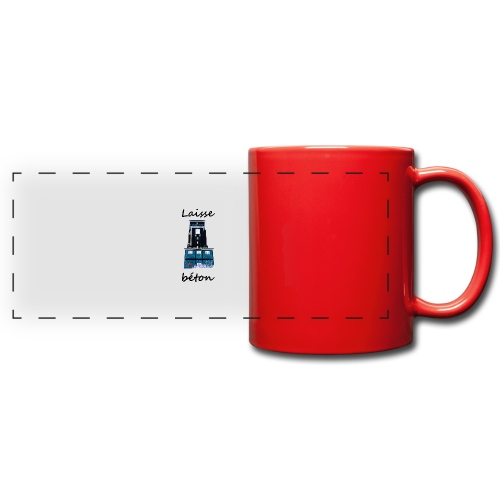 laisse_b--ton-png - Mug panoramique uni