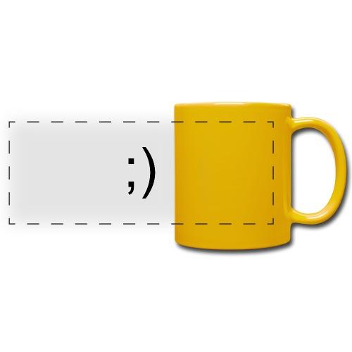 Wink Wink Smile - Full Color Panoramic Mug