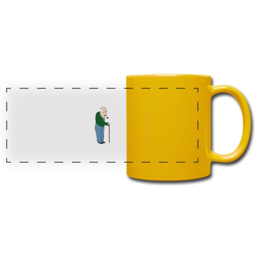 Old Tosspot - Full Color Panoramic Mug