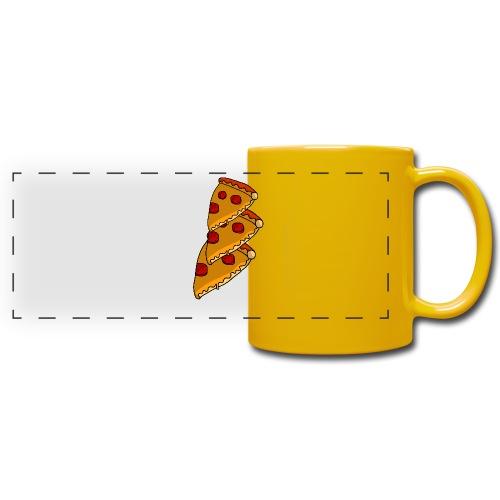 pizza - Panoramakrus, farvet