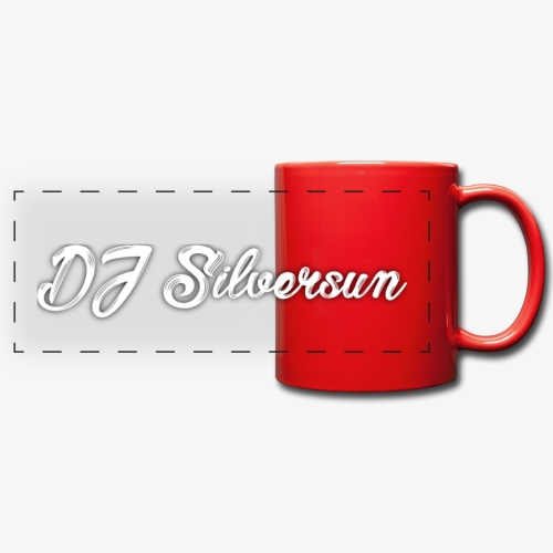 Silversun Text weiß png - Full Colour Panoramic Mug