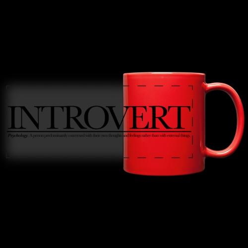 INTROVED WB - Full Color Panoramic Mug
