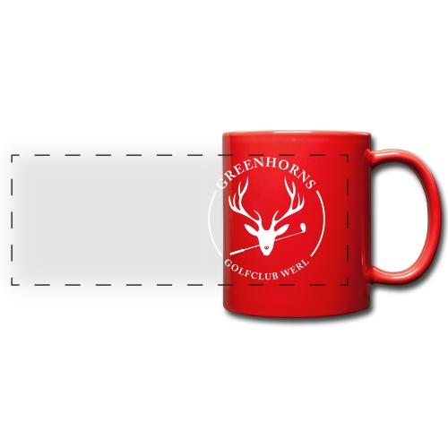 Greenhorns Emblem - Panoramatasse farbig