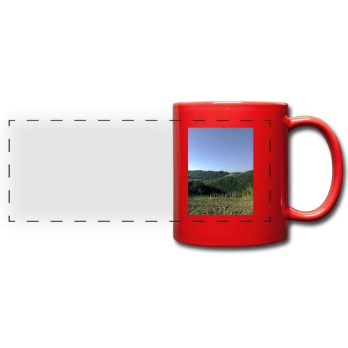 Panorama - Tazza colorata con vista
