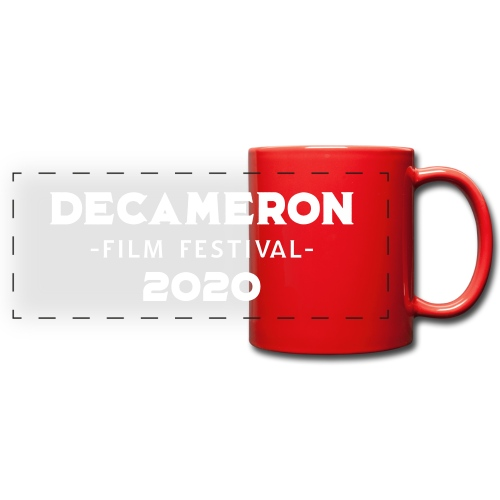 DECAMERON Film Festival 2020 - Full Colour Panoramic Mug