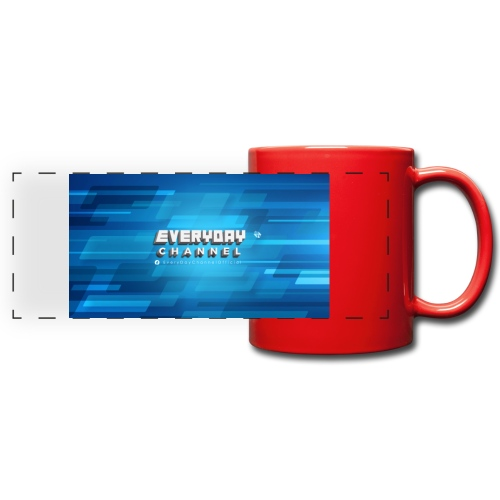 EverydayChannel banner - Full Color Panoramic Mug