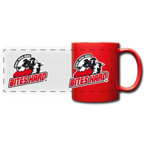 Disc Dog Bug Bites Hard Mugs - Full Color Panoramic Mug