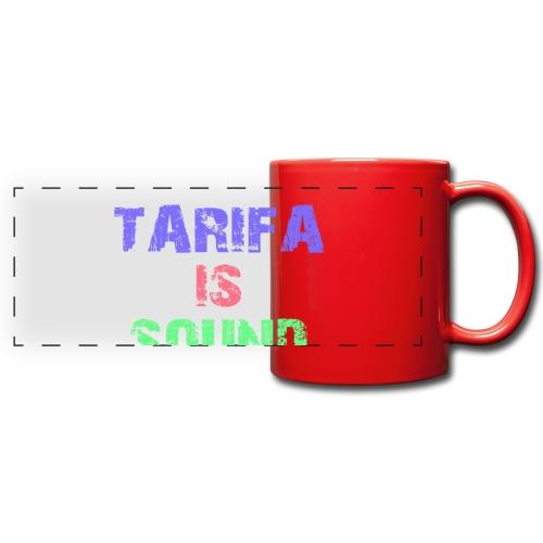 Tarifa tambiés es sonido - Taza panorámica de colores