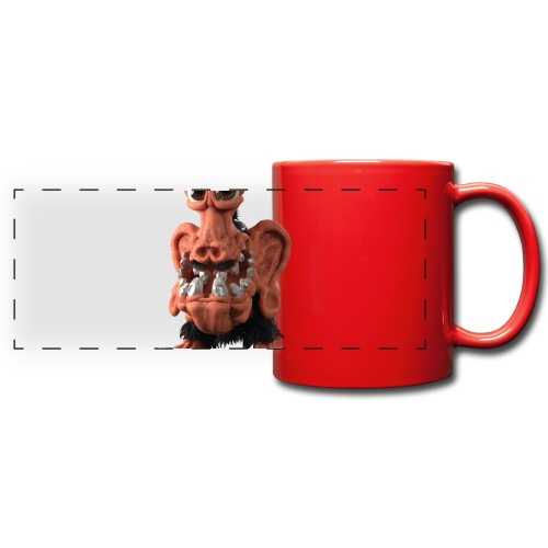 Very positive monster - Full Colour Panoramic Mug