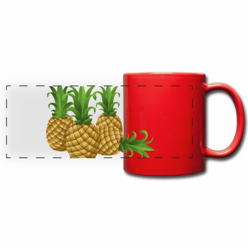 Ananas - Panoramatasse farbig