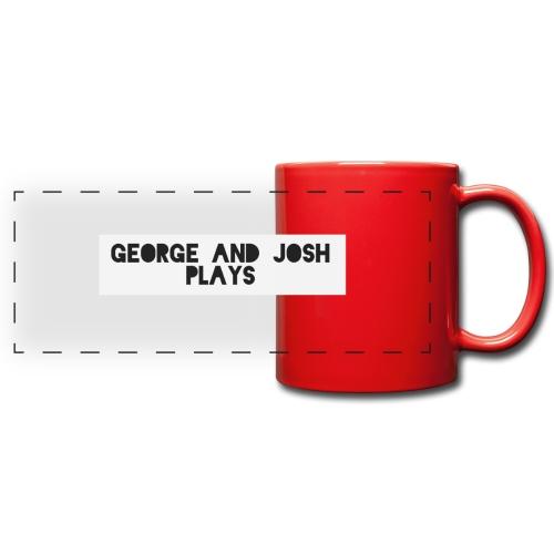 George-and-Josh-Plays-Merch - Full Color Panoramic Mug