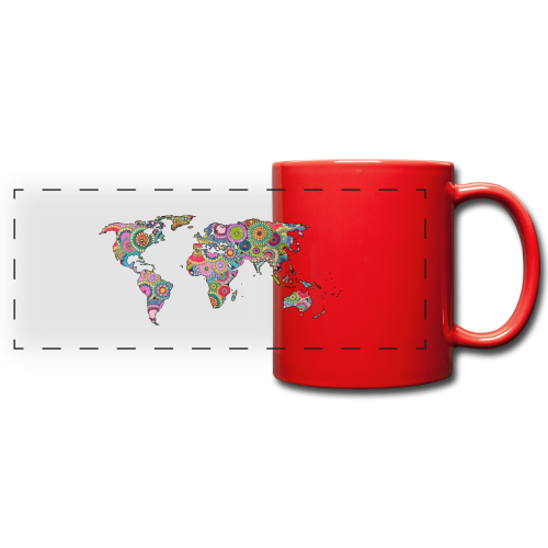 Hipsters' world - Full Color Panoramic Mug