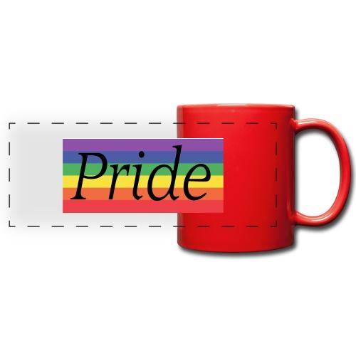 Pride | Regenbogen | LGBT - Panoramatasse farbig